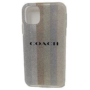 """Coach Case for Apple iPhone 11 6.1"""" 2019 - Glitter Americana"""